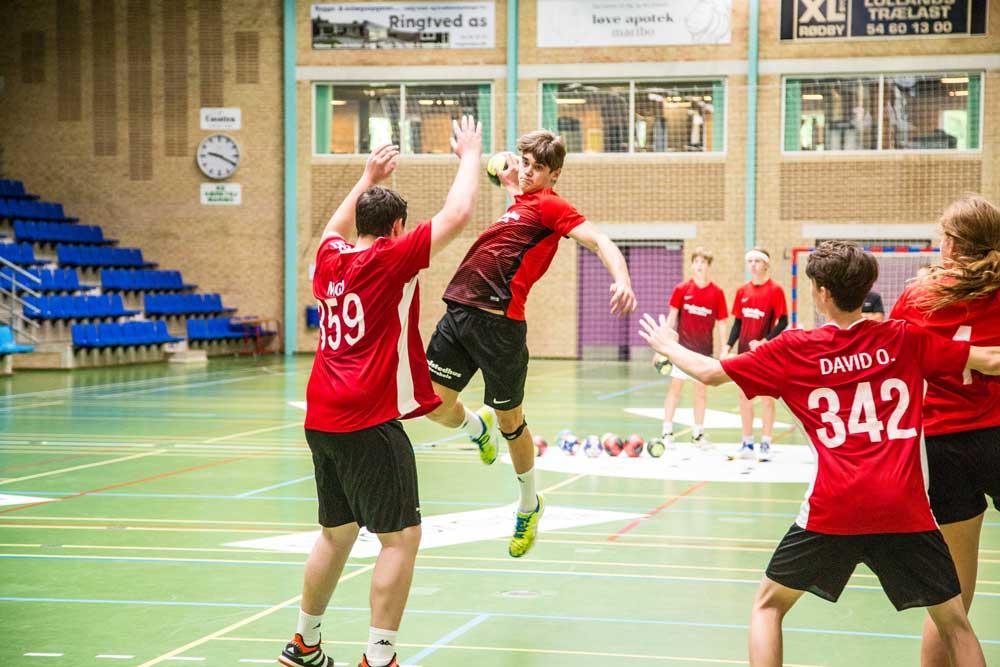 Idrætsefterskole håndbold