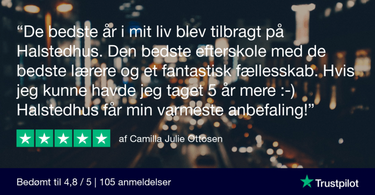 Trustpilot Review - Camilla Julie Ottosen