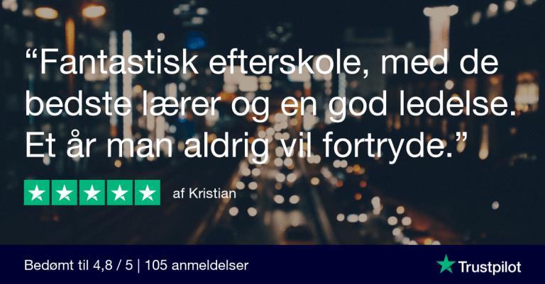 Trustpilot Review - Kristian