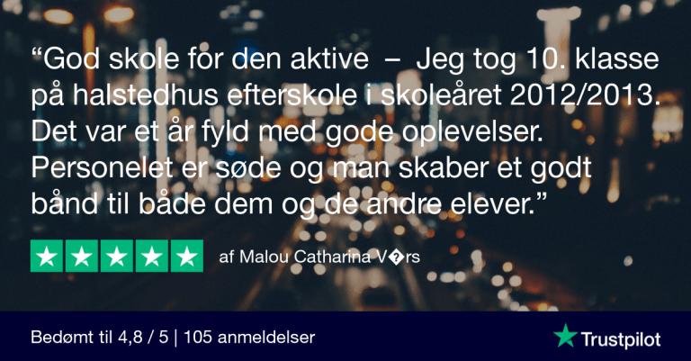 Trustpilot Review - Malou Catharina V�rs